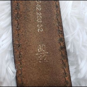 Fossil Accessories - Fossil Belt Size 30/32 Brown Leather